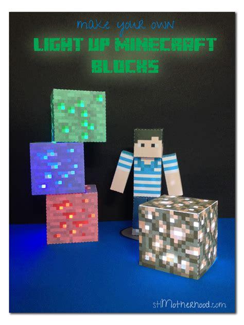 40 minecraft diy crafts ideas