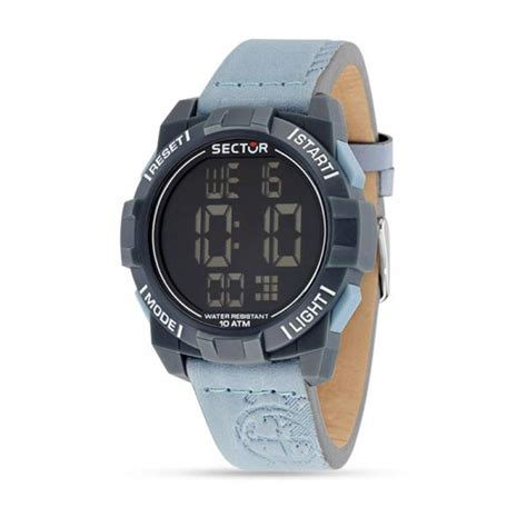 Sunglases Di 5512 orologio uomo sector expander 1945 digitale vera pelle colortato new sector orologi