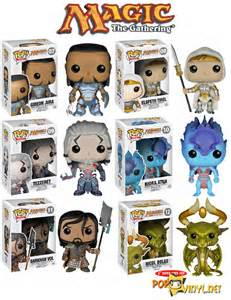 Funko pop magic the gathering figures series 2 the bag of loot