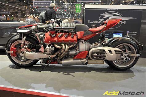 lazareth lm 847 lazareth pr 233 sente la lm 847 une moto 224 moteur maserati