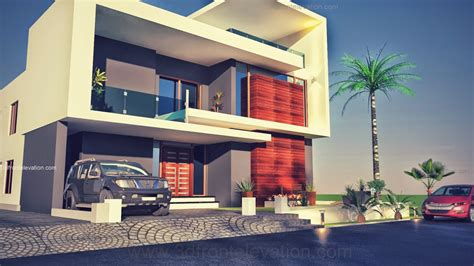 3d front elevation com beautiful contemporary house 3d front elevation com beautiful pakistani 1 kanal modern