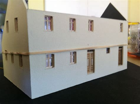 modellbau haus selber bauen fremo