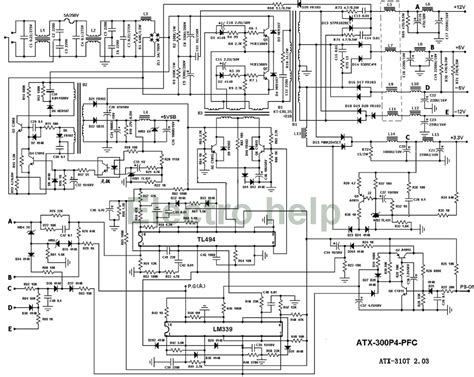 diagrams 620470 computer power supply wiring diagram