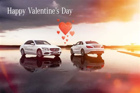 tutte le automobilistiche gli auguri di san valentino da tutte le