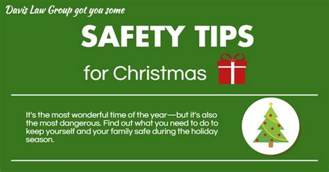 safety tips for christmas unlimited stock