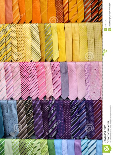 colorful ties colorful ties stock photo image of shirt mens clothes