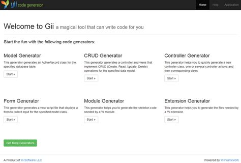 yii tutorial basic super easy crud with gii and the yii2 framework web