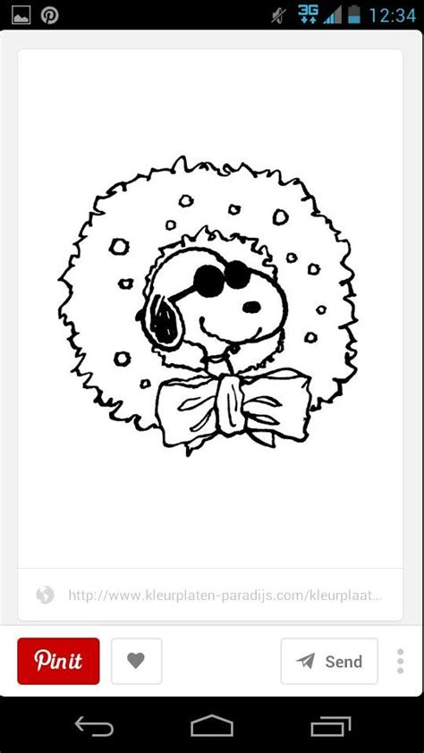 joe cool coloring pages 42 best images about snoopy color pages etc on pinterest