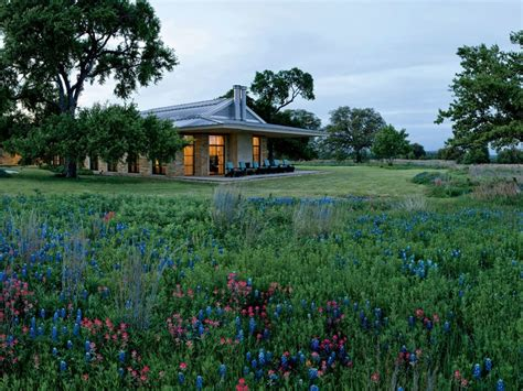 george bush house laura and george w bush s serene retreat in texas architectural digest
