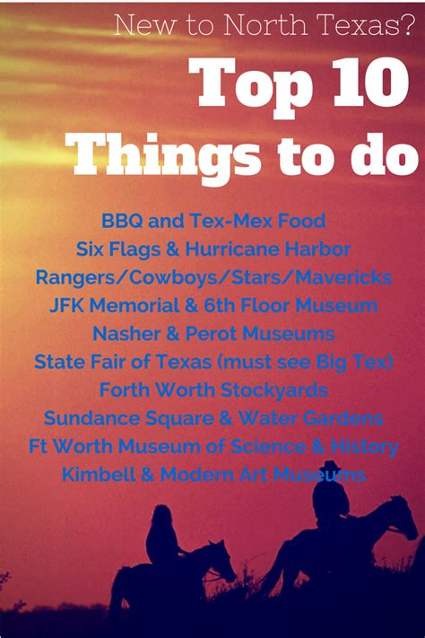 10 best things to do top 10 things to do in dallas fort worth
