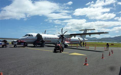 Ura Ra Vol 4 avis du vol air tahiti raiatea papeete en economique