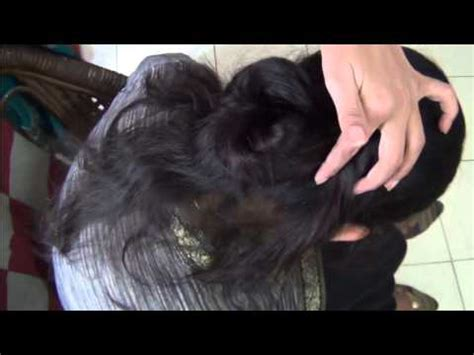 juda hair style for shadi how to bind hair style simple gulab juda youtube