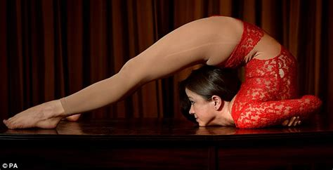 extreme contortion act is this britain s bendiest woman contortionist 26
