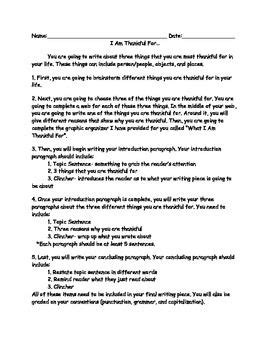 paragraph about thanksgiving thanksgiving writing assignment