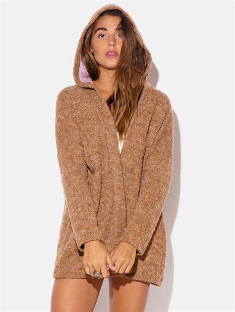 Jaket Sweater Sweater fuzzy sweater hoodie modishonline