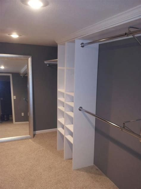 how to make a walk in closet brian and rachell bedroom remodel home decorating