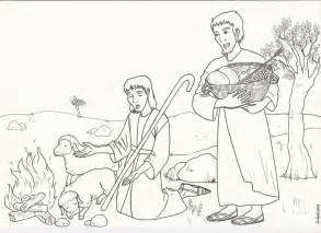 cain and abel coloring pages 1000 images about bible story cain and abel on