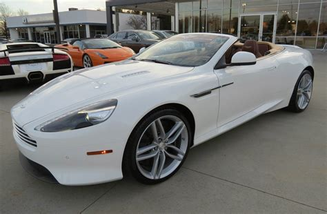 2014 aston martin db9 volante 2014 aston martin db9 volante start up exhaust and in