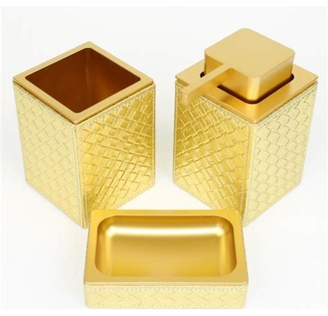 Gold Bathroom Accessories Marrakech Gold Bathroom Accessories Contemporary Bathroom Accessory Sets By