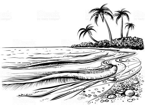 boat waves drawing drawn sea ocean wave pencil and in color drawn sea ocean