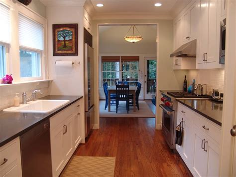 galley style kitchen design ideas stupefying classic interlude picture clues decorating