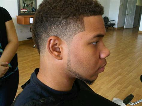 high afro taper fade black taper fade haircut for men low high afro mohawk fade