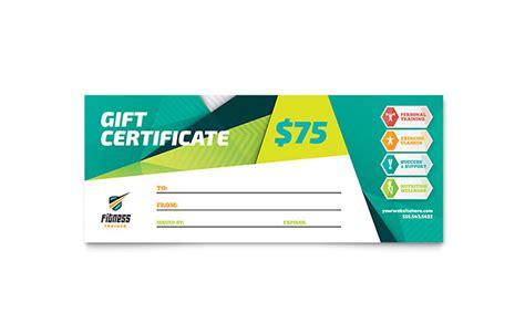 gift certificate templates mycreativeshop