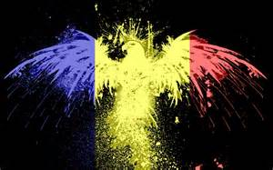 Wall Colors And Mood romanian flag colors widescreen wallpaper wide