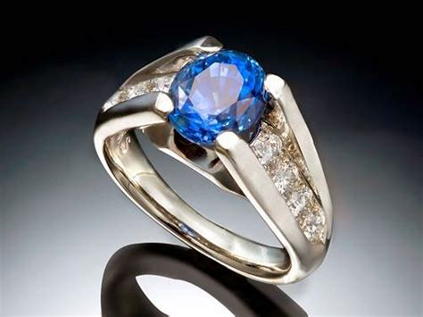 Picture Of A Blue Ring by Blue Sapphire Rings For Images Pictures Fashion Gallery