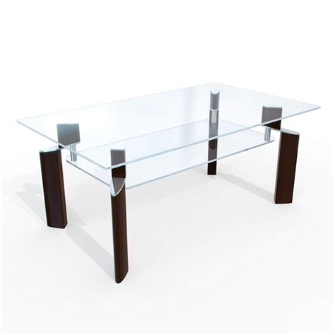 glass dining table 3d model 3dsmax files free