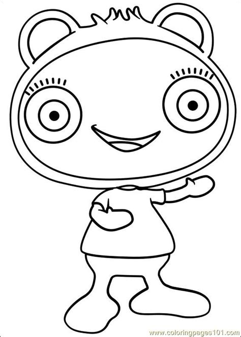 Free Coloring Pages Of Cbeebies Weekly Cbeebies Colouring Pages