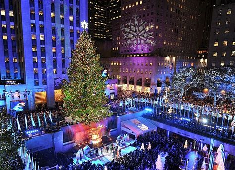 tree lighting rockefeller center the 10 most amazing trees in the u s
