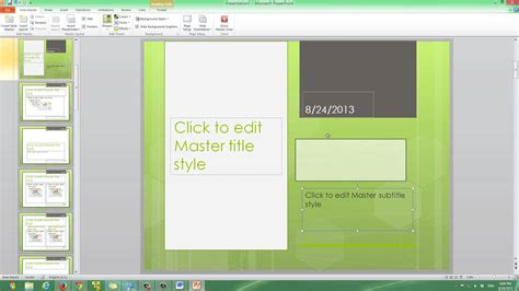 how to create a master template in powerpoint how to create a powerpoint master slide your