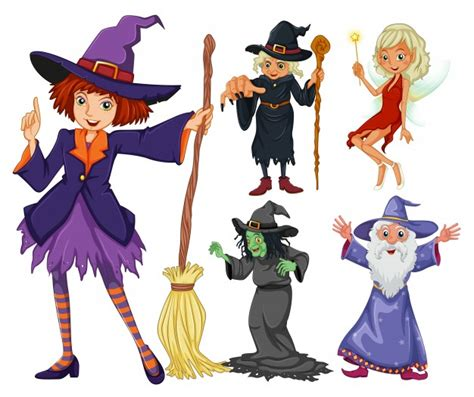 witch and wizard witch vectors photos and psd files free
