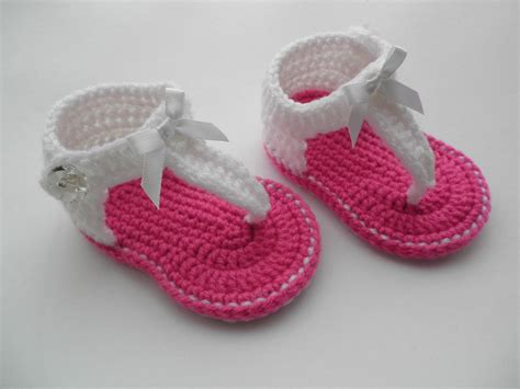 newborn crochet sandals crochet baby sandals baby gladiator sandals baby by