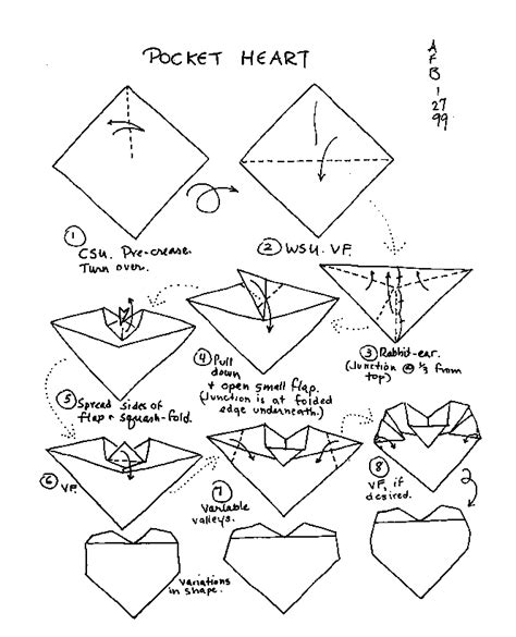 How To Fold Paper Hearts Step By Step - check this easy origami 2016