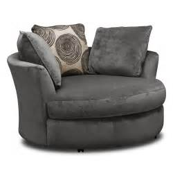 Swivel Sofas For Living Room Ii Gray 3 Pc Sectional And Swivel Chair Furniture