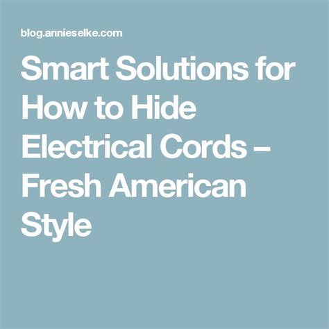 how to hide l cords the 25 best hide electrical cords ideas on