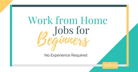 I Want To Work From Home Online No Scams - no experience work from home jobs for beginners