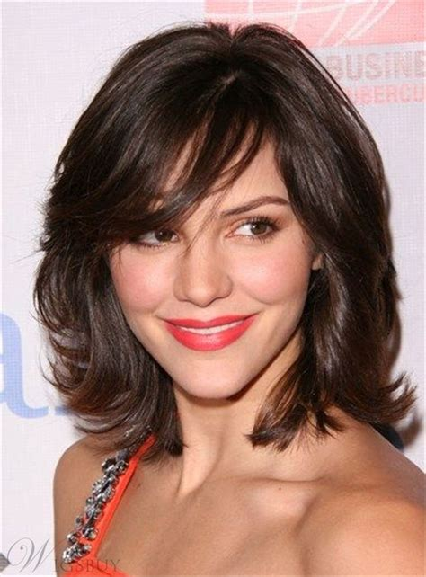 curly lob with bangs hair color ideas and styles for 2018 17 best ideas about medium wavy hair on pinterest short