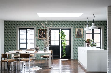 Best Colors For A Dining Room farrow amp ball channels the 1940s in latest wallpaper