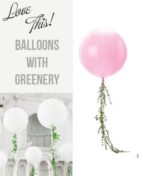 Wedding Aisle Balloons by Large Wedding Balloons With Greenery