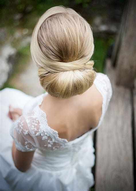 25 best ideas about wedding hair buns on wedding low buns low side chignon and