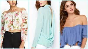 tendencias faldas largas cruzadas 2017 blusas de moda tendencias verano youtube
