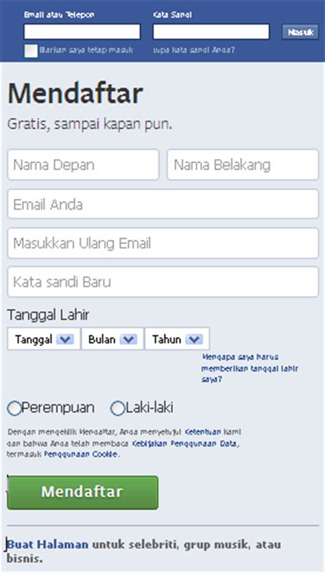 cara membuat akun facebook menjadi verified cara membuat facebook baru daftar akun fb belajar