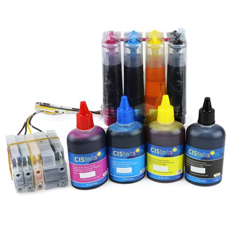 Printer Refill Continuous Ink Supply System With Ink Bottle Set For Hp Officejet Pro 8625 8600 Seriess Plus