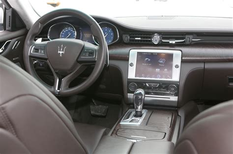 new maserati interior 2014 maserati quattroporte s q4 interior cockpit photo 21