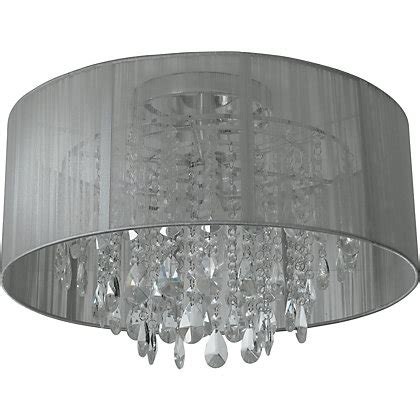 l shade with crystal droplets schreiber wedmore shade with crystal droplets cream