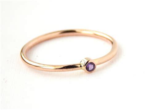 tiny gold filled birthstone ring 14k gold