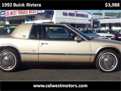 car repair manuals online free 1992 buick riviera lane departure warning service manual 1992 buick riviera tps removal service manual remove front rotor 1992 buick